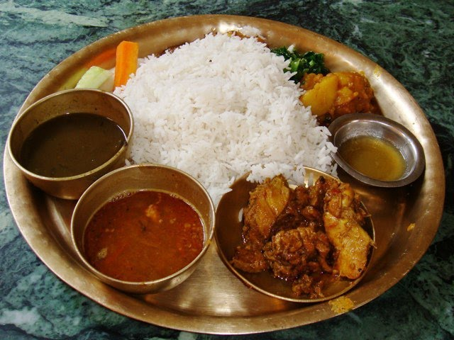 Nepali meals we all nepali for Cuisine of nepal